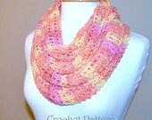 Infinite Breeze Scarf and Cowl Crochet pattern