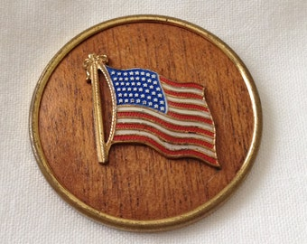 Flag Brooch 48 Stars