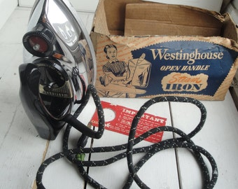 Vintage Westinghouse Steam Iron Works