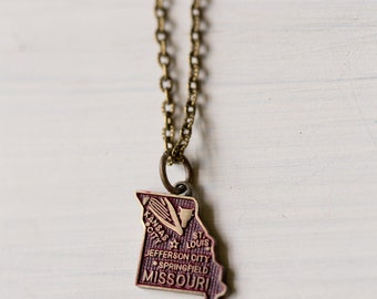 Missouri Love Charm Necklace