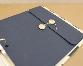 Keepsake Envelope - Navy -  Include in your Two Giggles Baby Album
