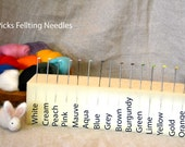 WizPicks Needle Felting Needles - Full Set - all 16 types