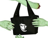 Voodoo Sugar Rocky Horror Picture Show Dr Frank N Furter Tribute Black Zippered Insulated Cooler Tote Bag