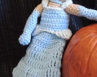 Cinderella Crocheted Doll Disney Charles Perrault The Glass Slipper Inspired Fairy Tale Princess