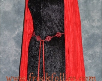 "Celtic Dress,Medieval Gown, Gothic Dress, Pagan Dress, Pre-Raphaelite Gown, Elvish Dress,  Medieval Dress ""Neave"""