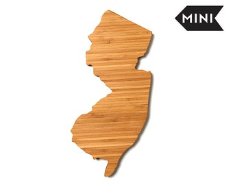 New jersey gift etsy new jersey cutting board wood cutting board new jersey gift engraved board negle Gallery