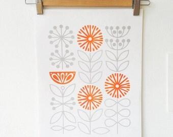 A3 Florescence Risograph Print