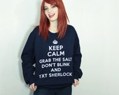 SuperWhoLock Fandom Sweatshirt - S-2XL - Supernatural Doctor Who Sherlock multifandom tumblr unisex gift Hoodie