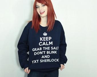 SuperWhoLock Fandom Sweatshirt - S-2XL - Supernatural Doctor Who Sherlock multifandom tumblr unisex gift Hoodie