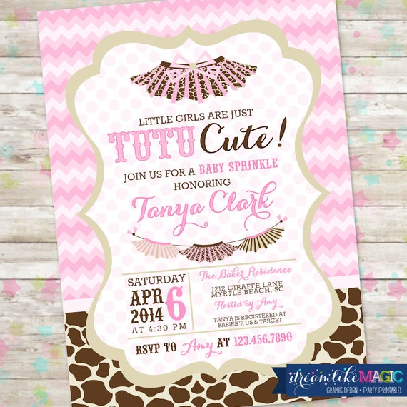 Girl Showering Clipart Baby Shower Invite Baby Girl