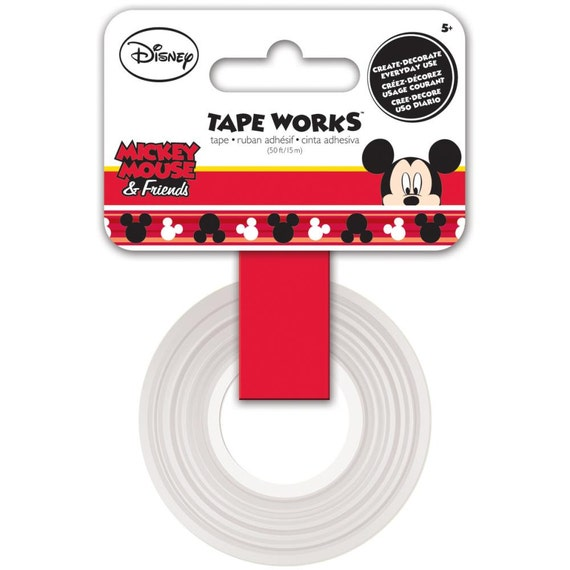 tape works disney mickey mouse washi tape decorate your