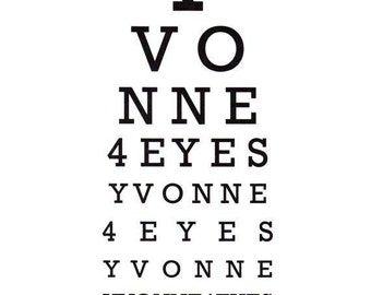 Eye Chart Cards.Art Cards.Any 4 Cards.Mix and Match.Eye Chart.Eye Exam.Eye Test.Eyes.Site.Vision.Optometrist. Eye Doctor. by Yvonne4eyes