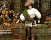 Dashing Flarian 1:24 Medieval Yeoman Dollhouse Doll