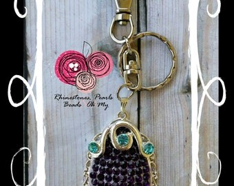 Chunky Sophia the First Amulet Key Chain Backpack Zipper Pull Handmade