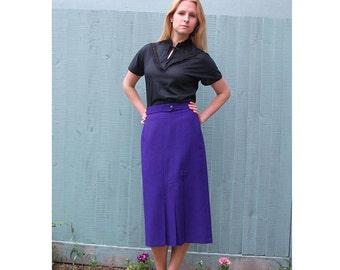 Black, Lace Detail Vintage Blouse - String Bow Neckline Top