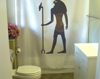 Eternal art shower curtains artistic custom unique by for Bathroom designs egypt