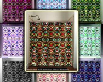 Beautiful Fabric Shower Curtains Custom Bathroom by TablishedWorks