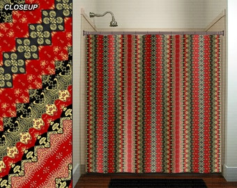 Curtains Ideas batik curtain panels : Asian curtains – Etsy
