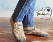 Crochet PATTERN Adult Slippers PDF