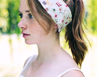 Sewing Fabric Wire Headband, Crafting Fabric Wire Head Wrap, Dolly Bow Hair Tie