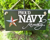 Us Navy Sign, military sign, Proud Navy Family, family sign, navy sign