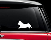 Pembroke Welsh Corgi Min Pin Pointer Decal Vinyl Sticker - Sticks to Cars, Walls, Ipads, helmets, bikes, motorcyles, laptops, window
