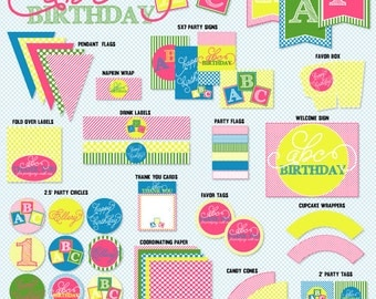 ABC PRINTABLE Party by Love The Day