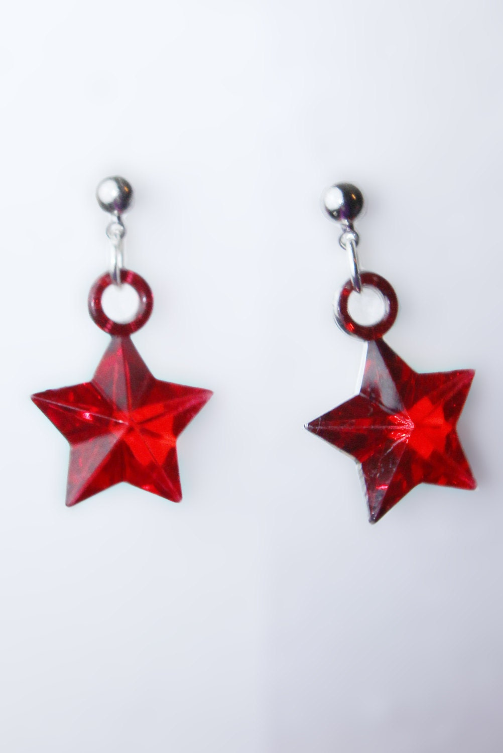 Sailor Mars Silhouette Sailor Mars Earrings