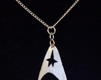 Star Fleet Pendant - Handmade - Metalwork