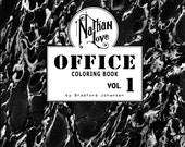 Nathan Love Office Coloring Book