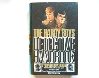 The Hardy Boys Detective Handbook, a Vintage Children's Book, 1959 Revised Edition