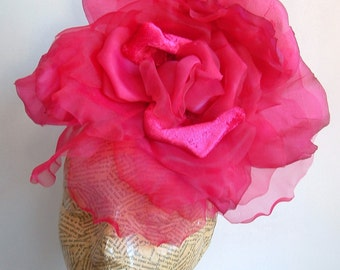SALE Extra Large Rose -  Hot Pink WAS 50.00 NOW 40.00
