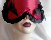 Red Vixen Sleep mask Blindfold by Love Me Sugar Paris on Etsy