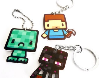 Crafty Key Chains and Bag Charms