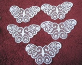Venice lace butterfly motif, 4, Austrian / guipure / venise lace, proceeds to charity