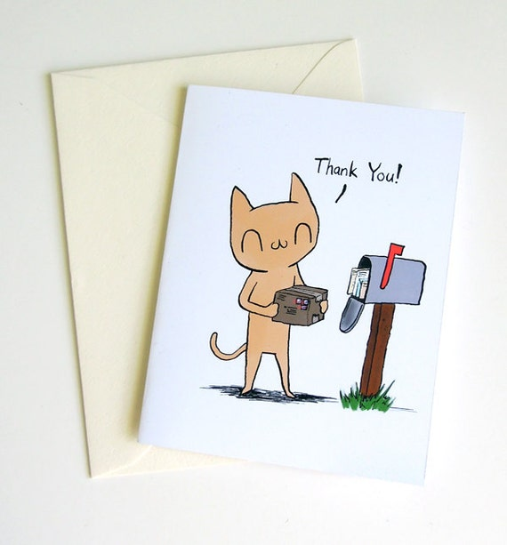 Meu Thank You A2 Size Greeting Card