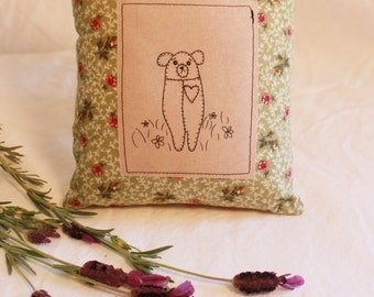 Molar Bear LAVENDER and Essential Oil PILLOW