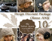 Design Discount Pattern Package CHOOSE ANY 10