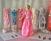Vintage Princess Diana Doll Wardrobe Trunk NIB Royal Wardrobe Collection Danbury Mint Original 14 Inch Doll Red Trunk COA's ca. 1987