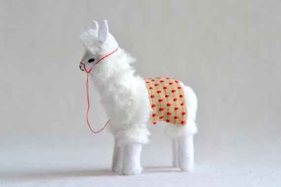 reserved - alpaca - soft sculpture