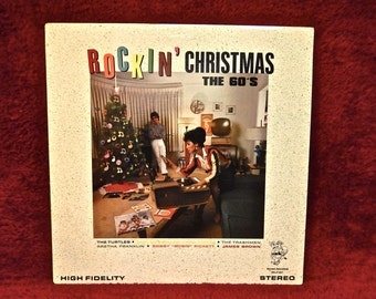 "CHRISTMAS...Rockin"" Christmas The 60's - Vintage Vinyl Record Album"