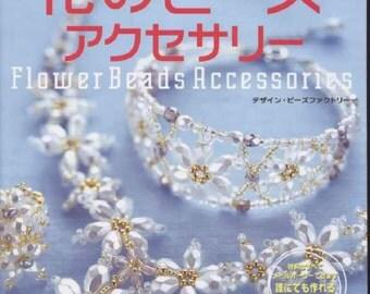 Flower Beads japanese magazine. Jewelry Patterns and tutorials PDF