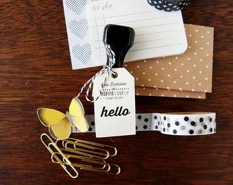 Exclusive Stamp - Hello