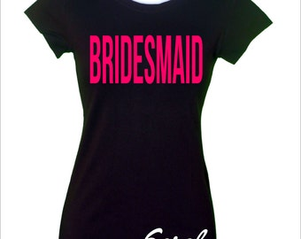 Custom and personalized  Bachelorette Party TShirt
