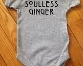 Soulless Ginger Baby bodysuit Redhead