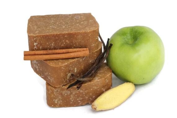 Spiced Apple Whipped Soap - Vanilla, Ginger, Cinnamon - Vegan - All ...