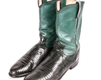 JUSTIN Roper Boots Men's Size 7 1/2