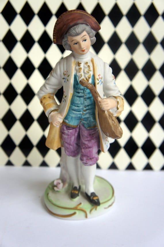 French Gentleman Figurine Statue