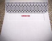 Personalized Stationery - Interweave