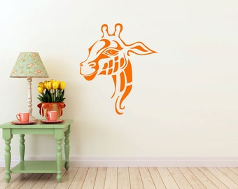 Giraffe Decal | Safari Animal | Vinyl Wall Sticker